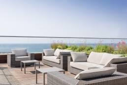 הנוף מהבריכה של מלון שרתון תל אביב המוצעת לאורחי הורייזון ספא